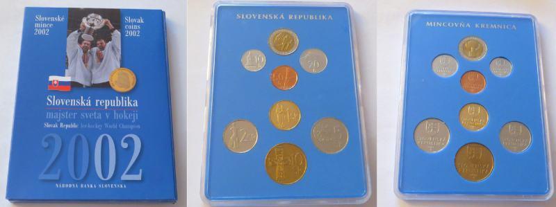 4849dd9431779 Súbor mincí MS v ľadovom hokeji 2002 | Aukčná spoločnosť DARTE