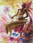 Černošský hudobník