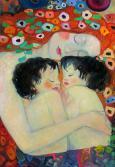 Kópia podľa Gustáva Klimta
