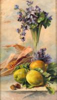 Zátišie s citrónmi