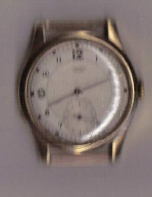 Zlaté náramkové hodinky Cerna PRIMA