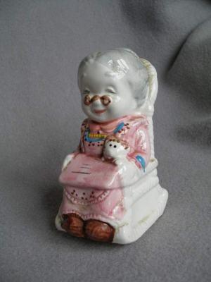 Sporitelnička - Babička v húpacom kresle