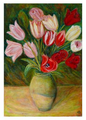 Tulipány vo váze