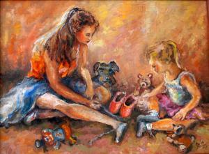 Baletky so psíkom