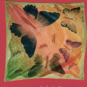 Šatka - Motýle