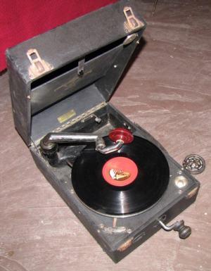 Kľukový gramofón