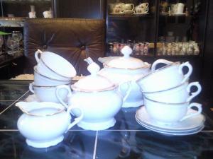 Porcelánová súprava čajová