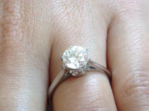 Predám zásnubný prsteň