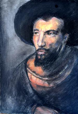 Reprodukcia diela Rembrandta