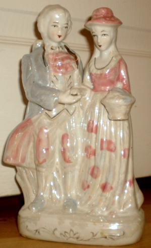 Porcelánová soška