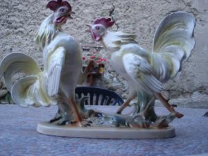 Porcelánové kohúty