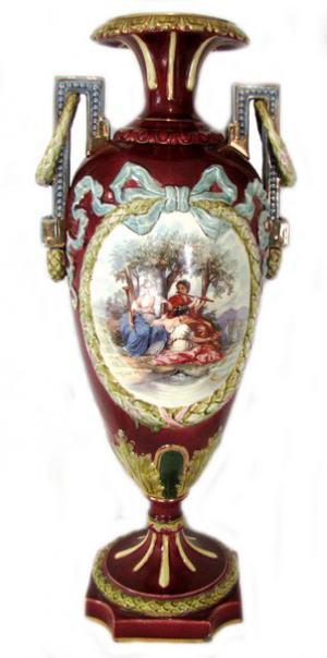 Francúzska terakotová váza