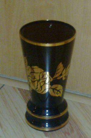 Vaza- farebne sklo