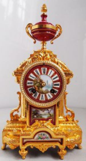 Francúzske starožitné hodiny