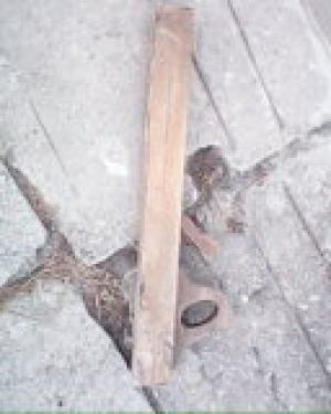 Drevený hoblík
