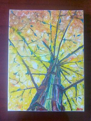 Strom a jeho jeseň života