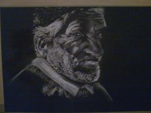 Portrét staršieho muža