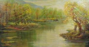 Ráno na rieke