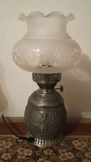 Cínová lampa