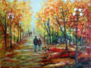 Prechádzka v parku..