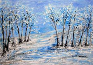 Krajina v zime 2..
