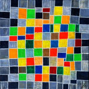 Šachovnica - abstrakt