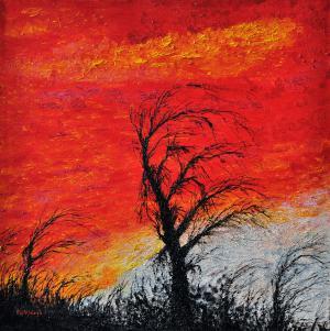 Krajina v červenom