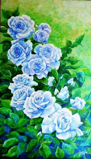 Modré ruže