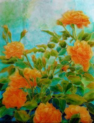 Žlté ružičky