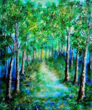 V zelenomodrom lese