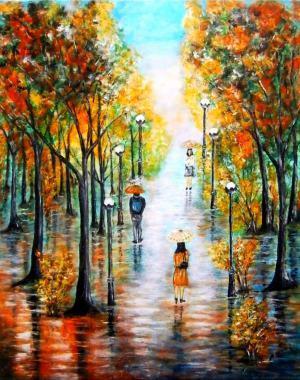 Prechádzka v dáždi 2