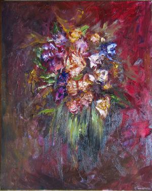 Kvety abstrakcie