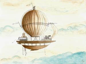 Vzducholoď - výlet do fantázie