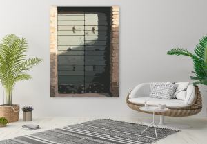 Obraz - grafika Za dverami II