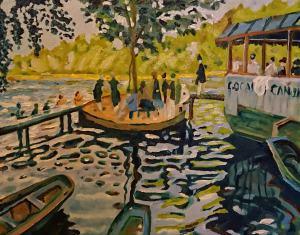 Claude Monet | La Grenouill?re (reprodukcia)