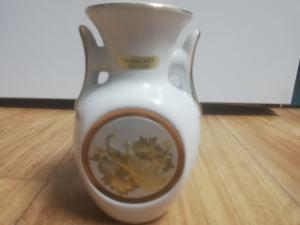 Chokin art 24kt gold váza