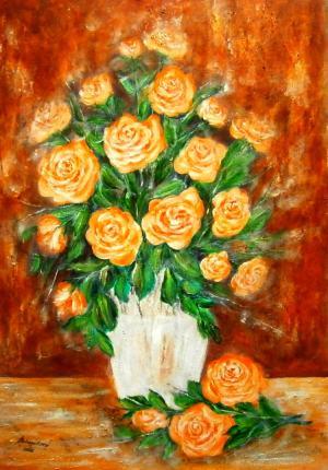 Zátišie - ruže