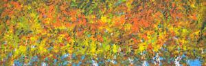 Jeseň v brezových stromoch 1