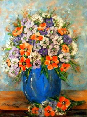 Kytica lúčnych kvetov 14
