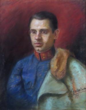 Portrét Samuela Oravca