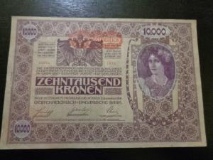 10000 Kronen 1902 XF