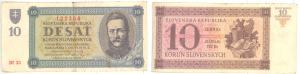 predam bankovky