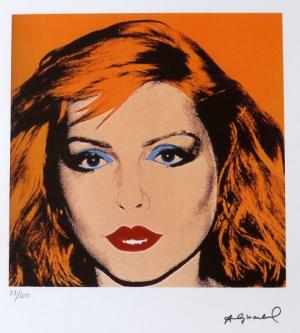 Portrét Debbie Harry