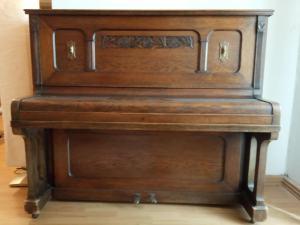 historické piano Werner
