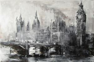 Londýn v hmle