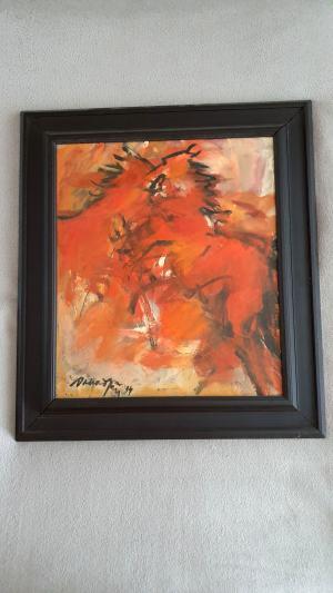 Obraz od slovenského umeleckého maliara