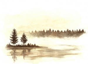 Krajina s jazerom I