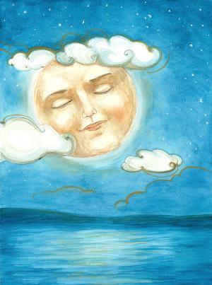 Mesiac spí