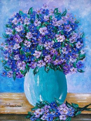 Zátišie s kvetmi 2
