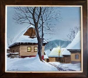 Drevenice v zime